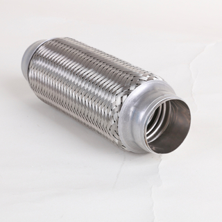 Flexible double layers high temperature exhaust truck tube