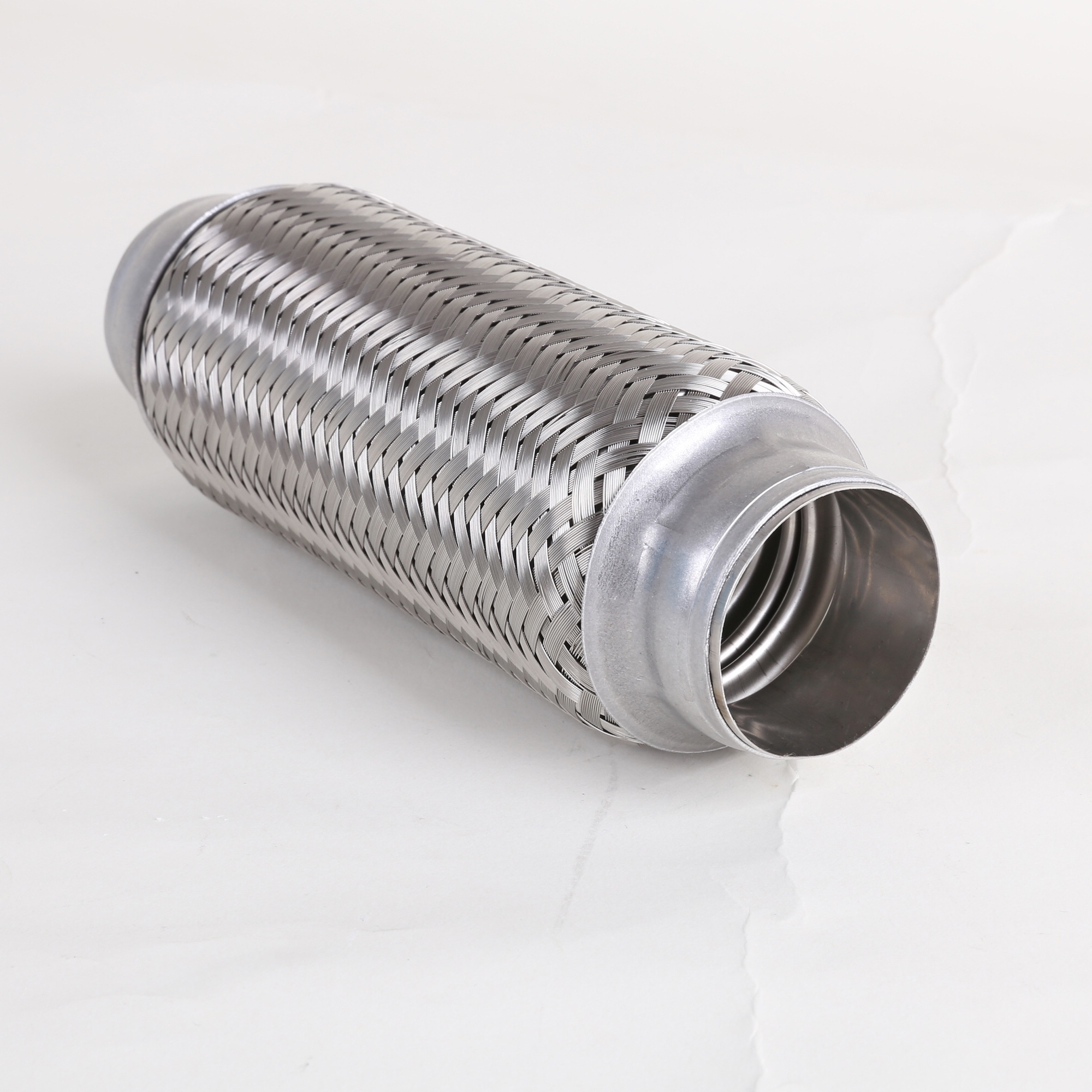 Stainless steel 3 inch diameter automotive flex exhaust pipe
