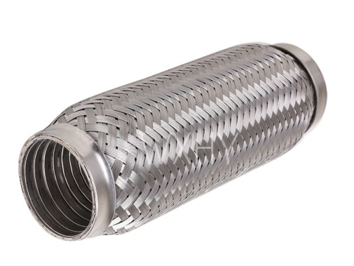 Stainless steel 4 inch corrugated muffler flex pipe with interlock