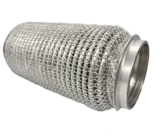 Woven Wire Mesh Stainless steel flexible Pipe for exhaust system