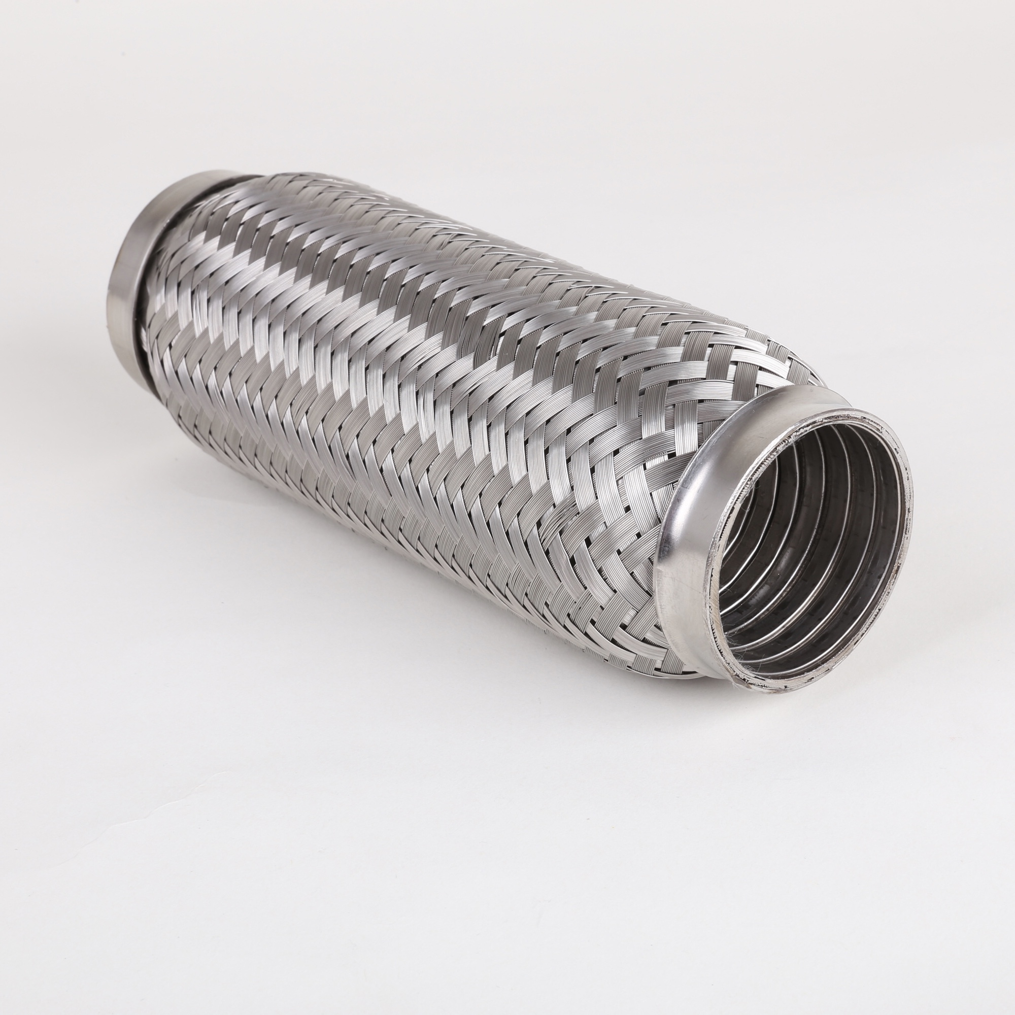Industrial 1-3/4 inch stainless steel flexible exhaust hose