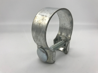 Factory aluminium Exhaust Narrow Band Clamp