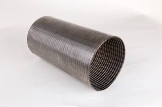 Galvanized strip wound interlock metal reel hose