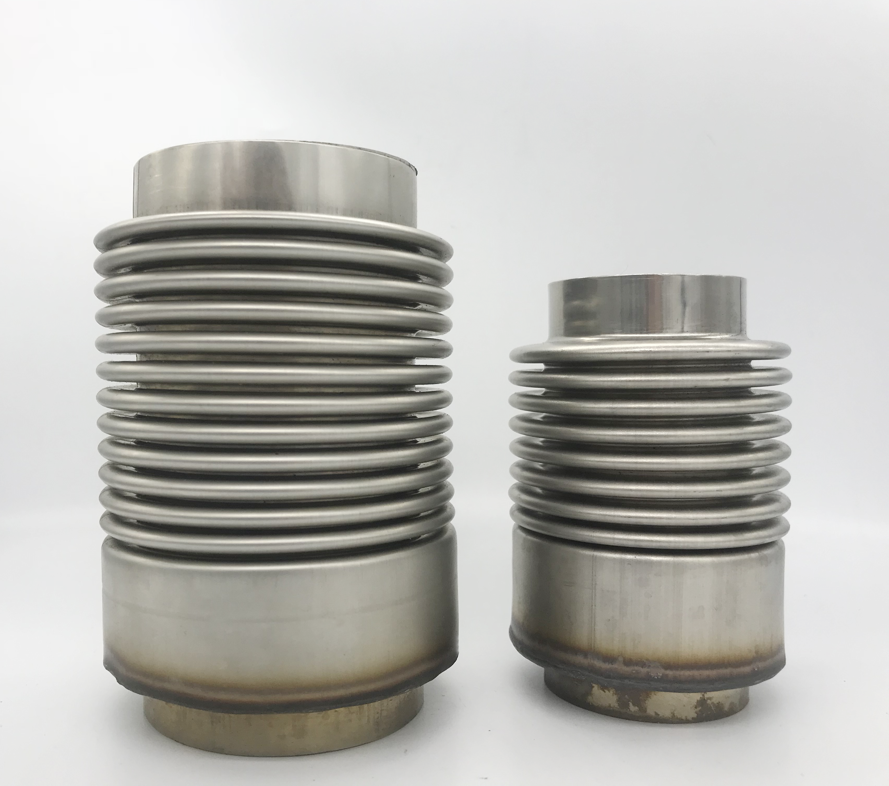 Double layer exhaust flex stainless steel corrugated Bellow Pipe