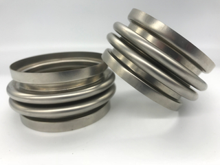 Stainless steel automotive double waves flexible Bellows